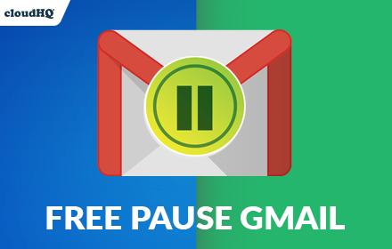 Pause Gmail