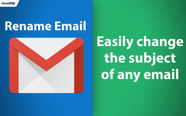 Rename Email Subjects