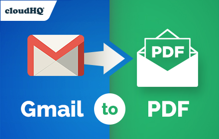 Save Emails to PDF